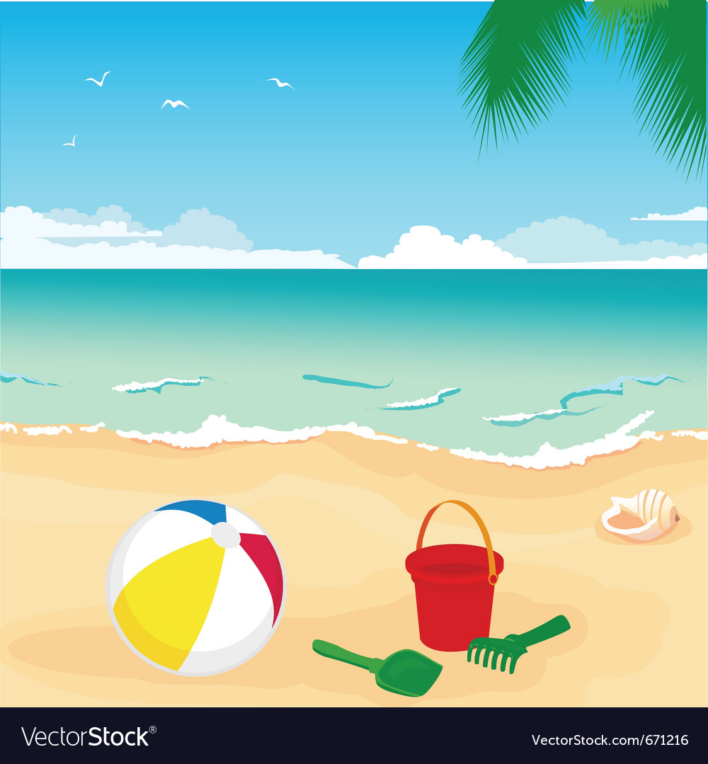 Beach vector