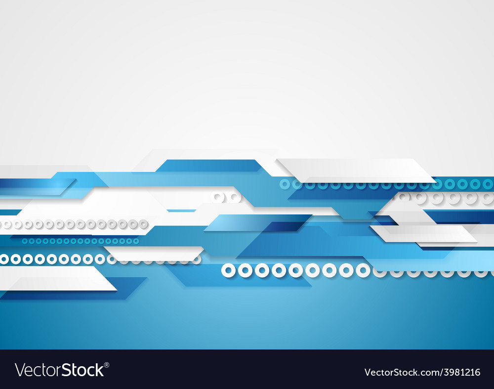 Blue shiny hi-tech motion background vector | Price: 1 Credit (USD $1)