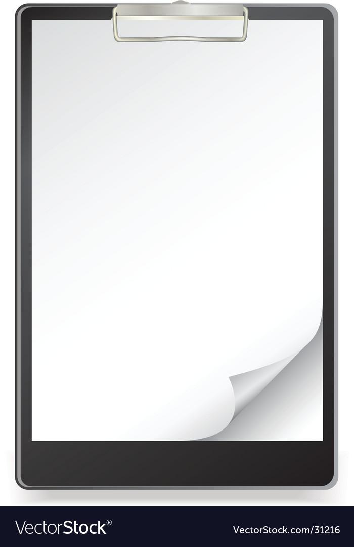 Clipboard vector | Price: 1 Credit (USD $1)