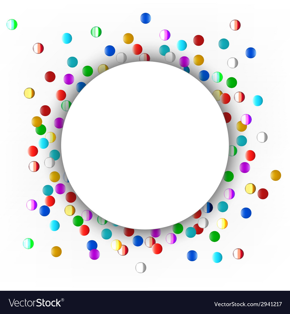 Confetti vector | Price: 1 Credit (USD $1)