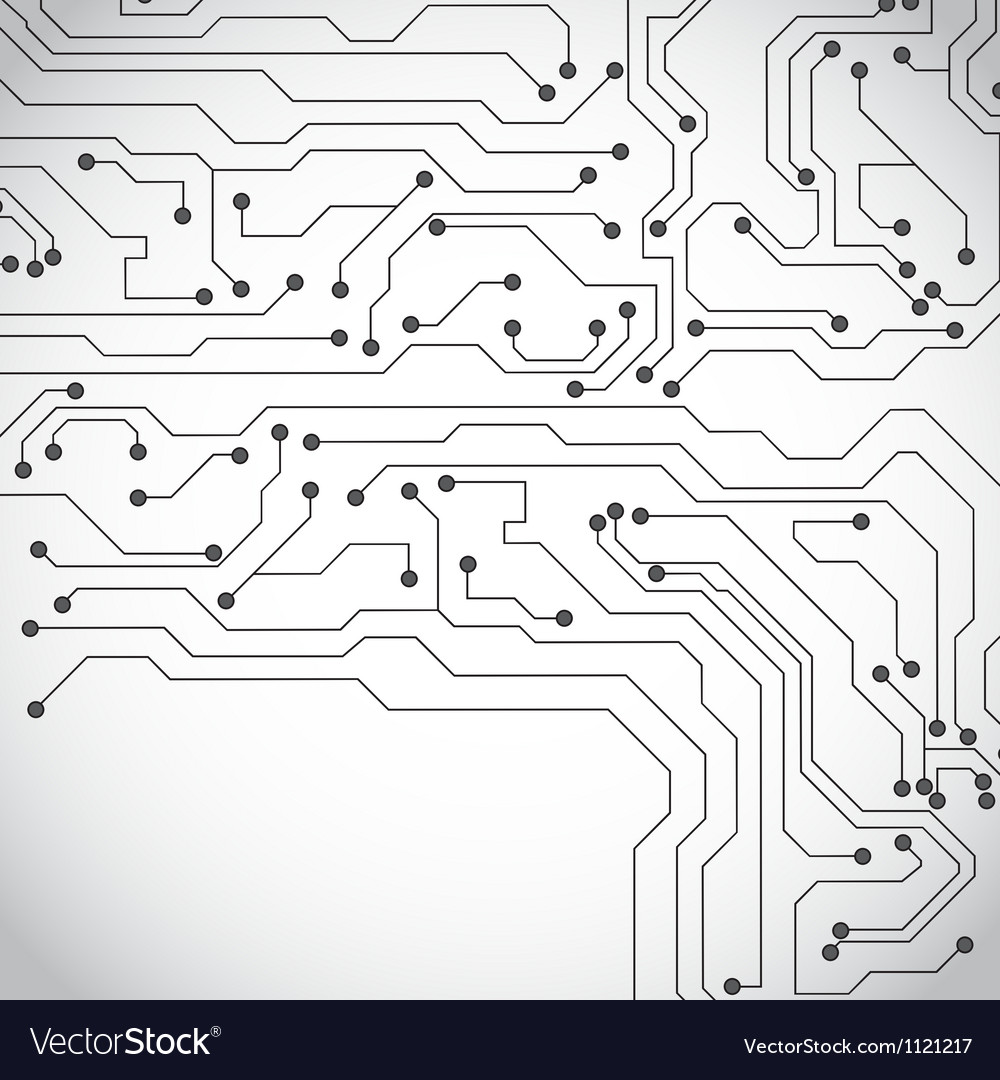 Microchip background vector