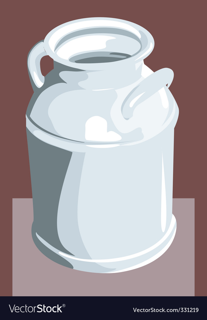 Milk container vector | Price: 1 Credit (USD $1)