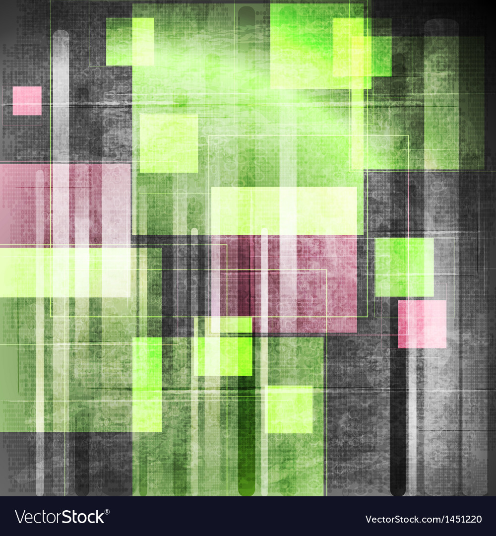Colourful grunge tech design vector | Price: 1 Credit (USD $1)