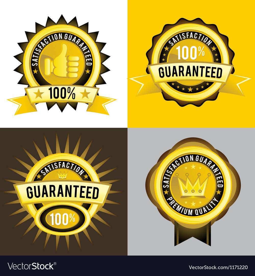 Satisfaction guaranteed and premium quality gold vector | Price: 1 Credit (USD $1)