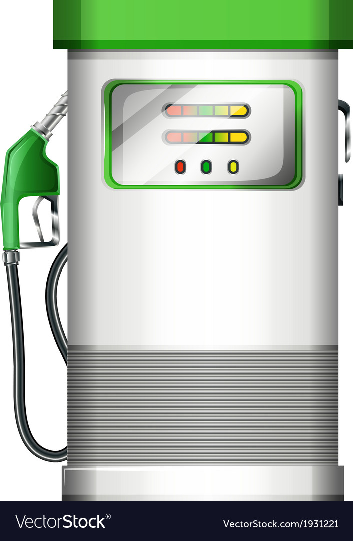 A petrol pump vector | Price: 1 Credit (USD $1)