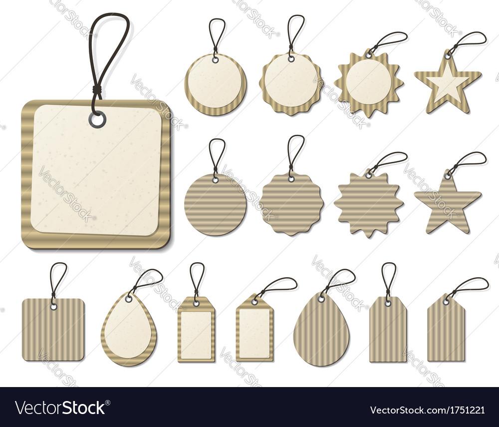 Paper tag vector | Price: 1 Credit (USD $1)