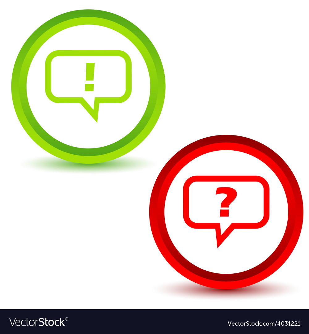 Question and answer vector | Price: 1 Credit (USD $1)