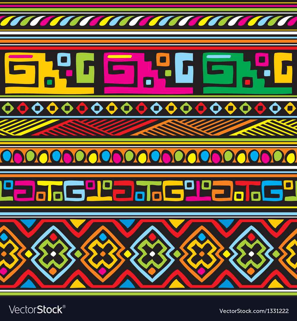 African pattern vector | Price: 1 Credit (USD $1)