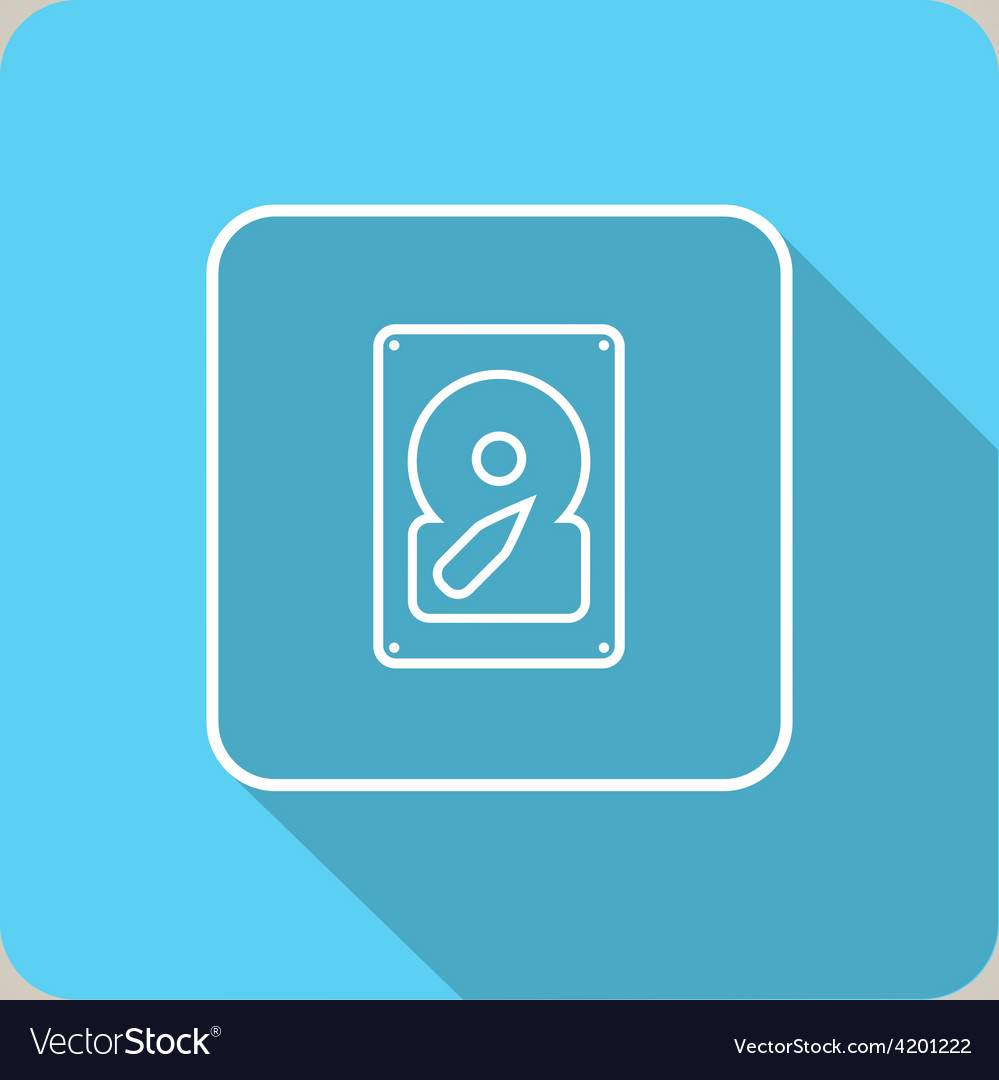 Internal media icon vector | Price: 1 Credit (USD $1)