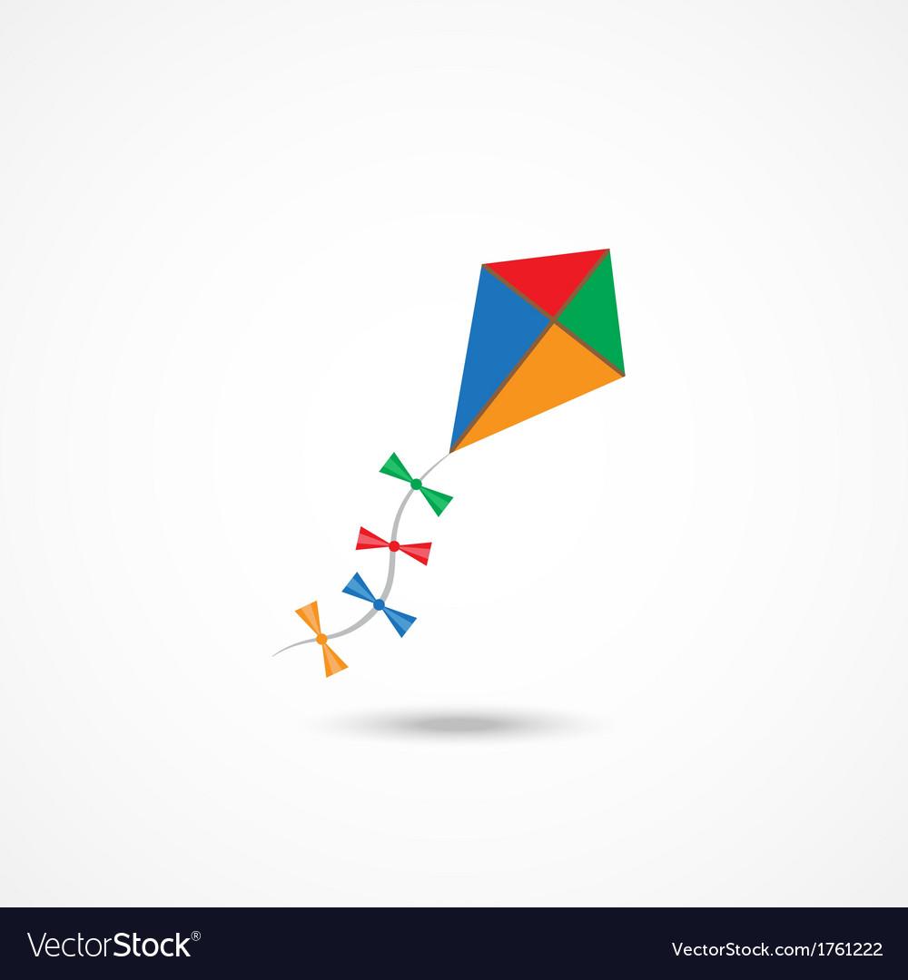 Kite icon vector | Price: 1 Credit (USD $1)