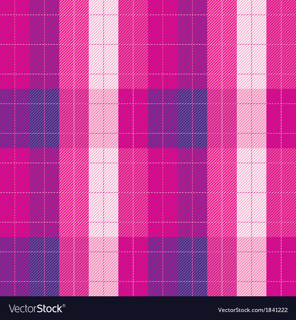 Plaid fabric seamless pattern vector | Price: 1 Credit (USD $1)