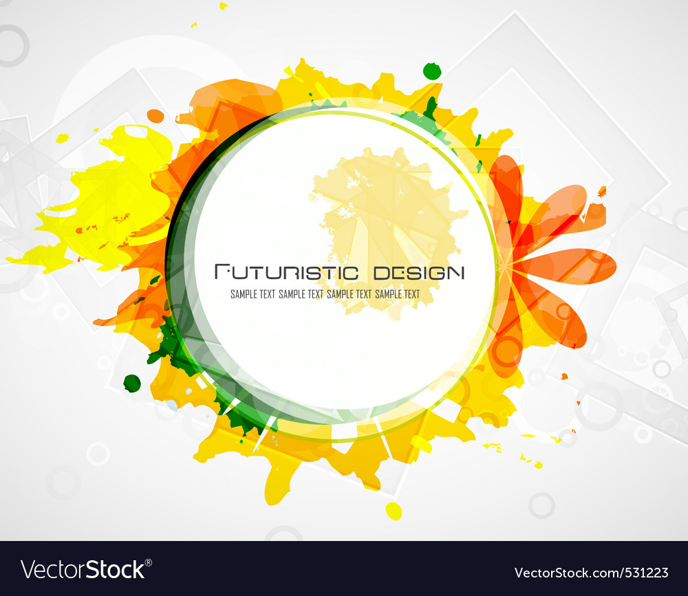 Futuristic design vector | Price: 1 Credit (USD $1)