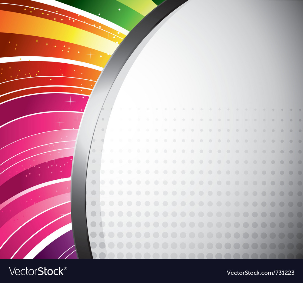 Rainbow design vector | Price: 1 Credit (USD $1)