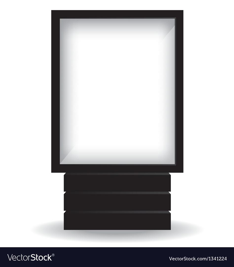 City light black billboard vector   Price: 1 Credit (USD $1)