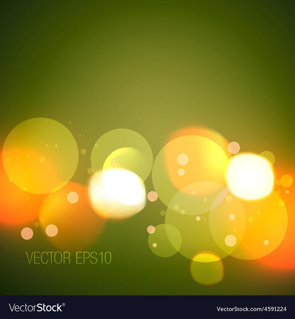 Glowing bokeh lights vector | Price: 1 Credit (USD $1)