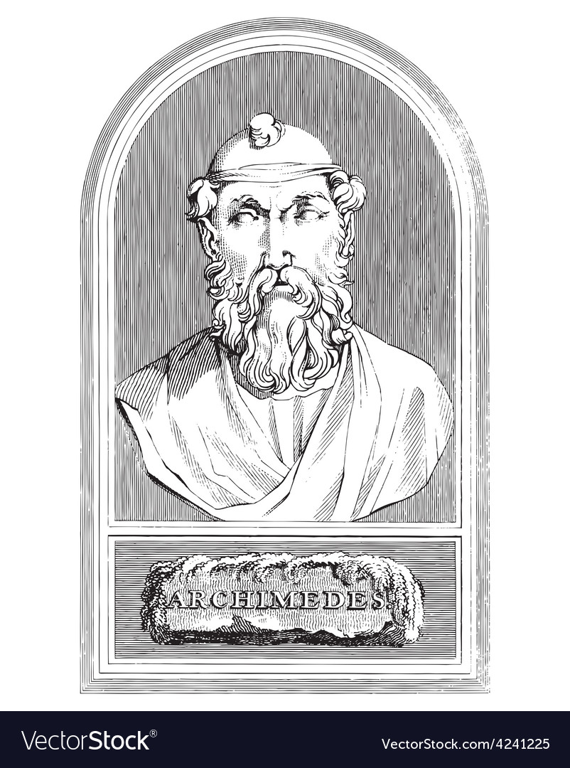 Archimedes vector | Price: 3 Credit (USD $3)