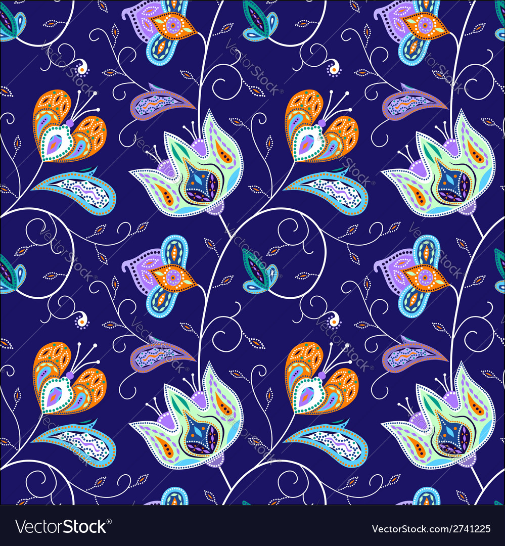 Indian pattern 03 vector | Price: 1 Credit (USD $1)