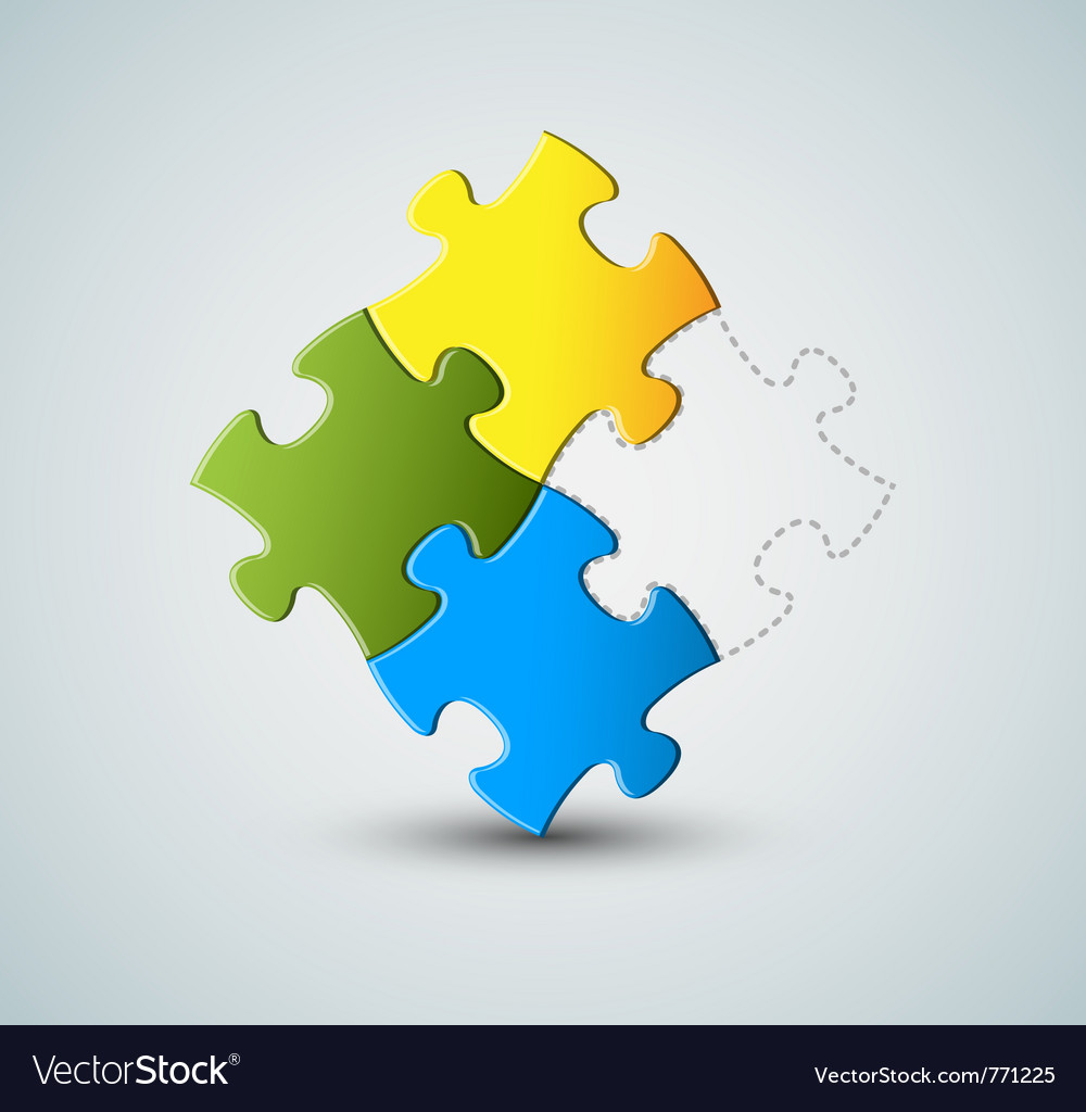 Puzzle  solution vector | Price: 1 Credit (USD $1)