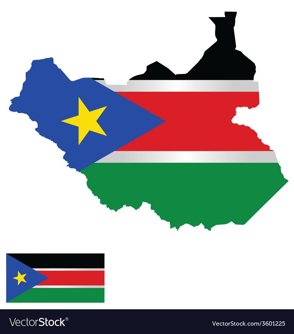South sudan flag vector   Price: 1 Credit (USD $1)