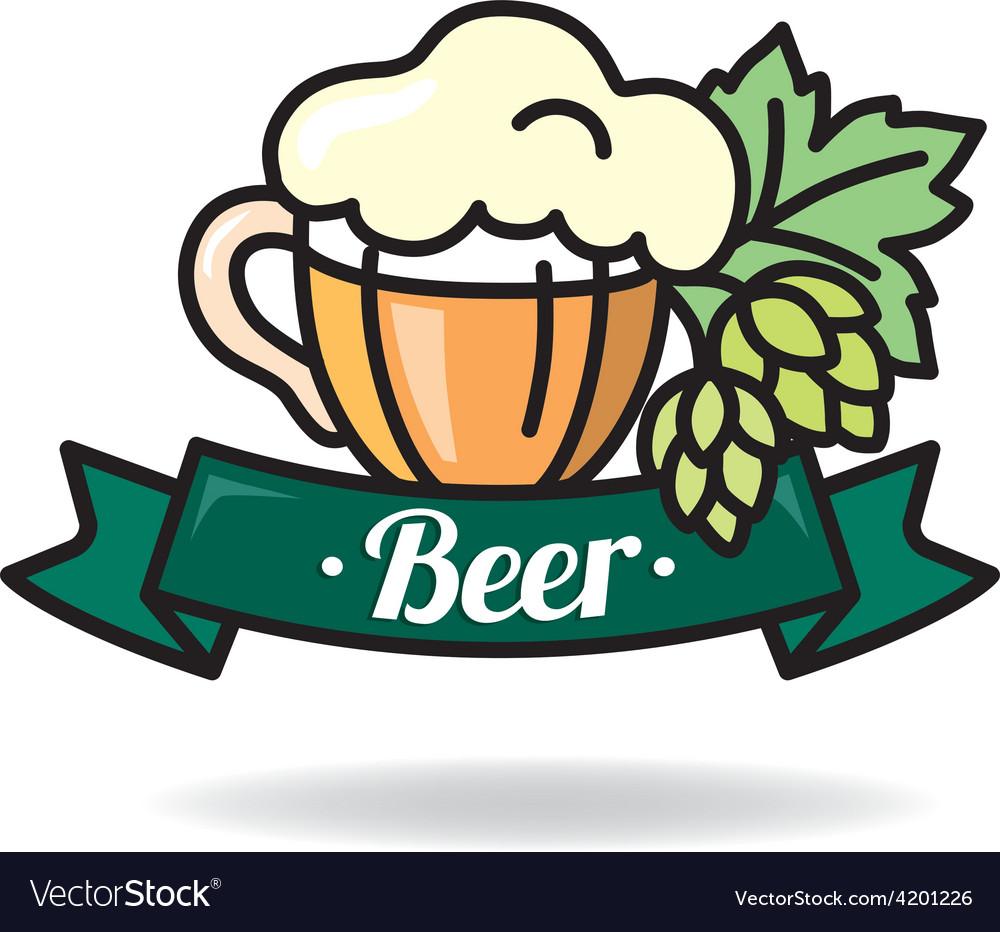 Beer logo vector | Price: 1 Credit (USD $1)