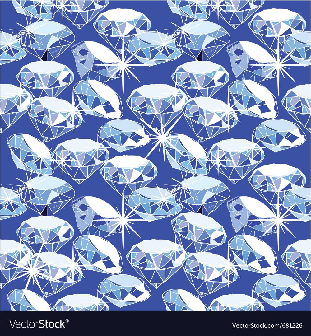 Diamond background vector | Price: 1 Credit (USD $1)