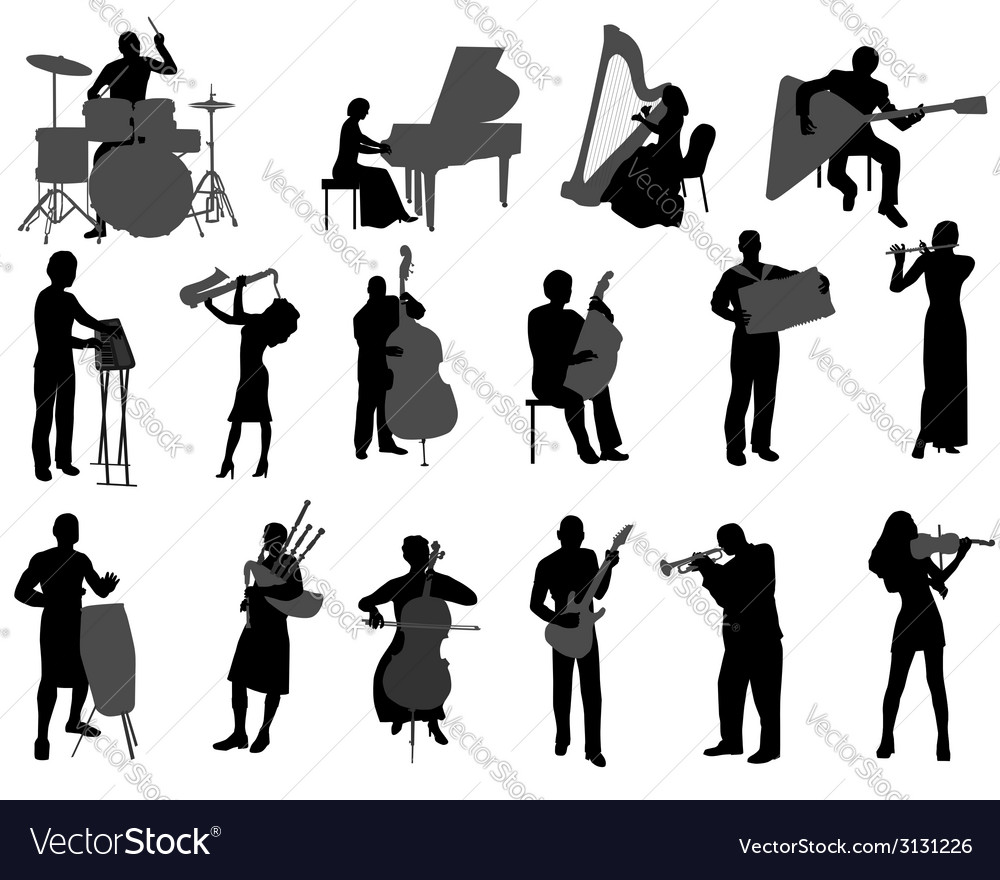 Musicians vector | Price: 1 Credit (USD $1)