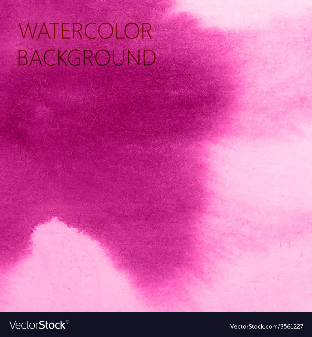 Abstract pink watercolor background for your vector | Price: 1 Credit (USD $1)