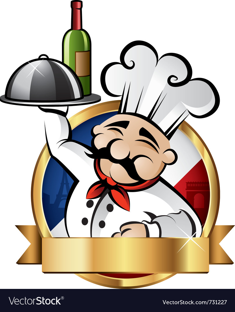 Cheerful chef vector | Price: 3 Credit (USD $3)