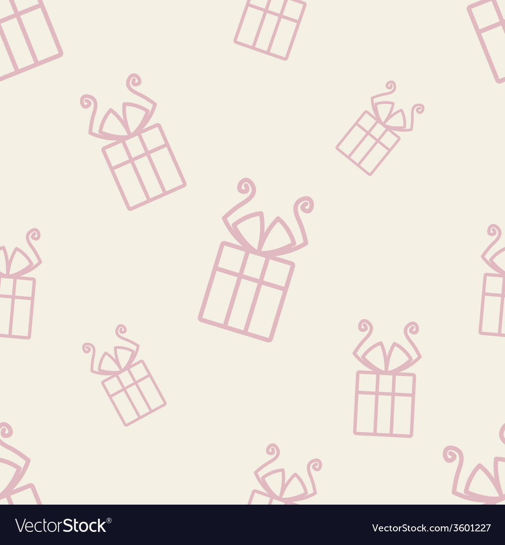 Gift pattern five vector | Price: 1 Credit (USD $1)