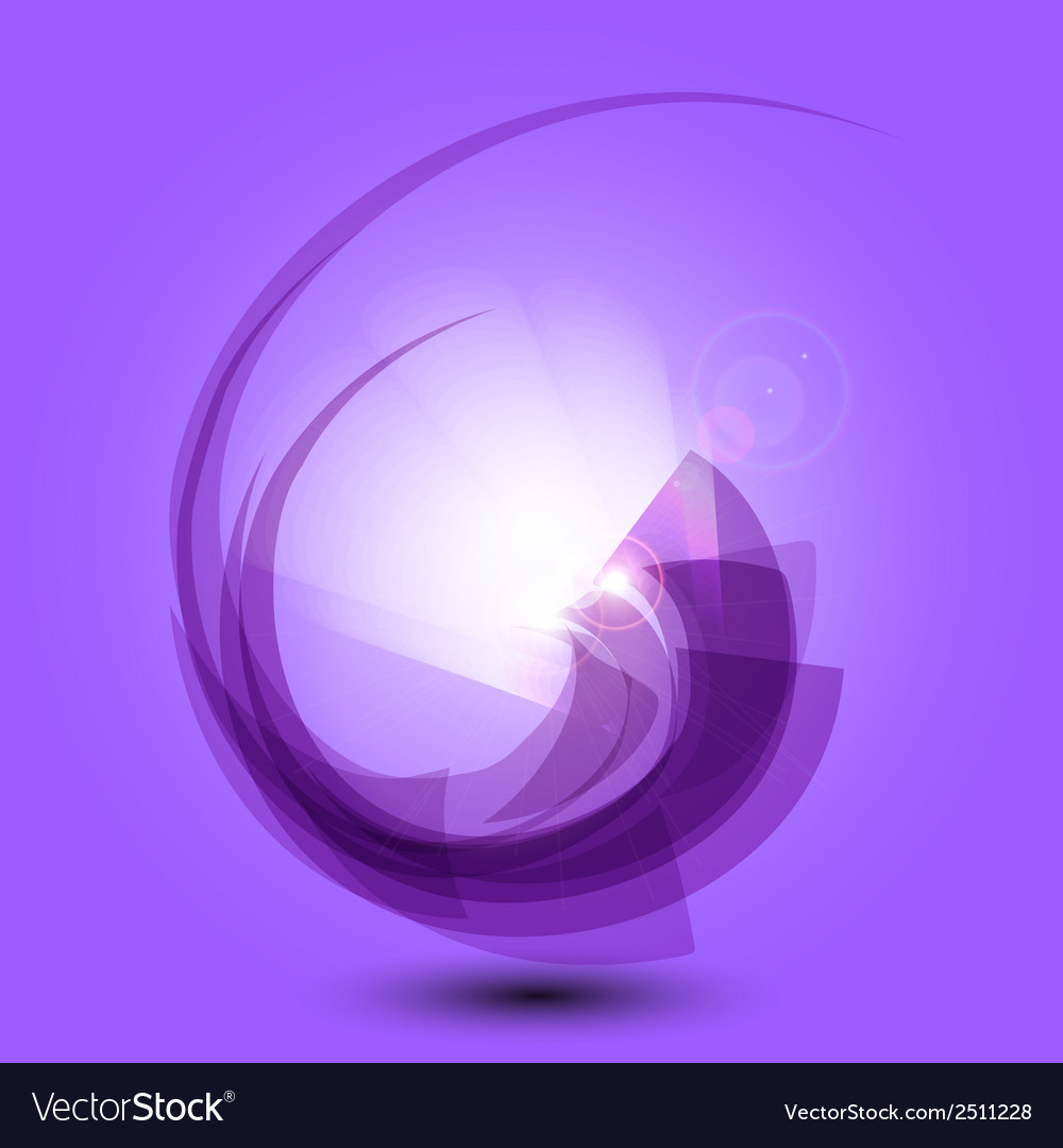 Abstract purple background with light vector | Price: 1 Credit (USD $1)