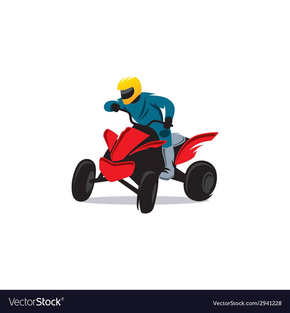 Atv sign vector | Price: 1 Credit (USD $1)