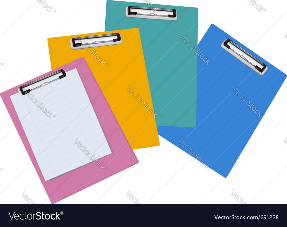 Blank clipboards vector | Price: 1 Credit (USD $1)