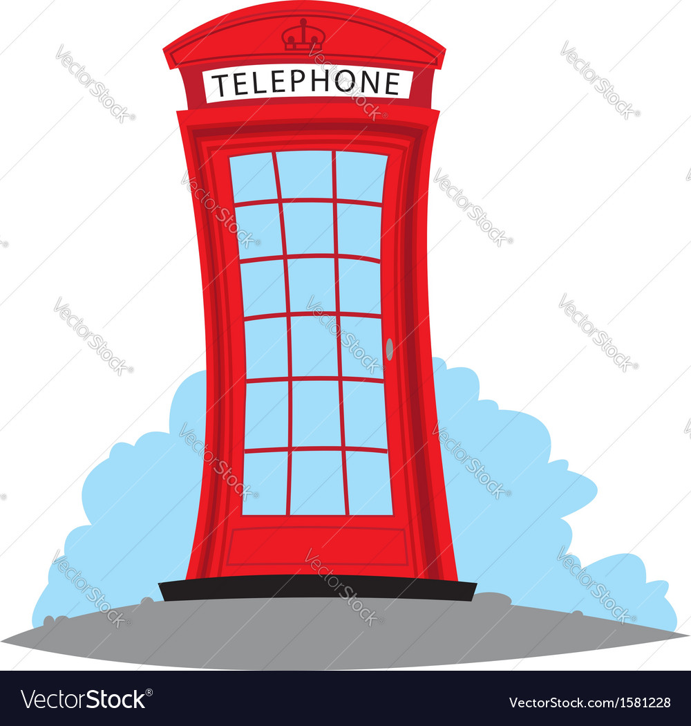 English telephone vector | Price: 1 Credit (USD $1)