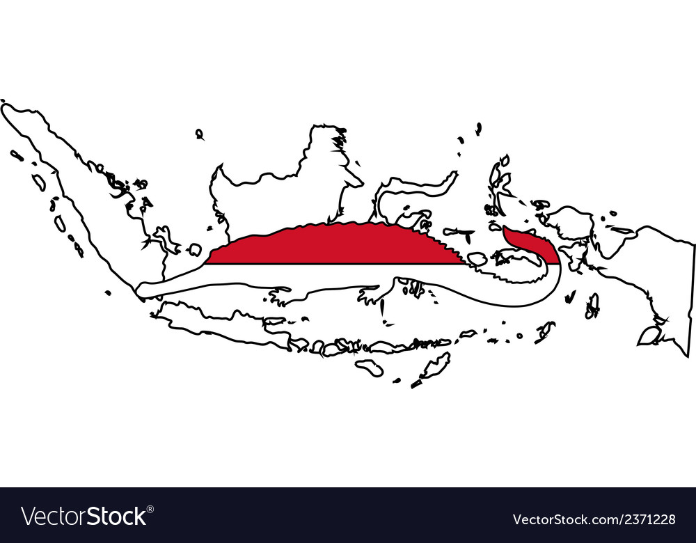 Gharial indonesia vector | Price: 1 Credit (USD $1)