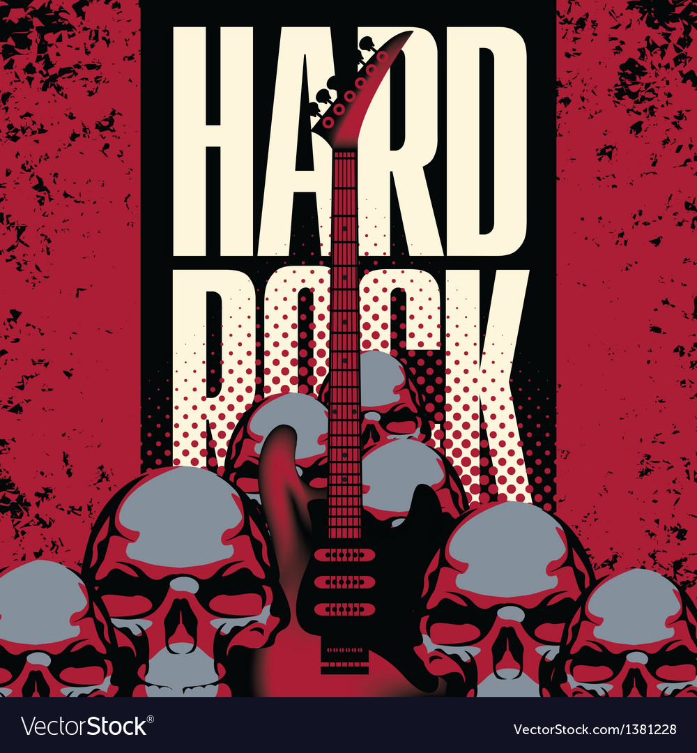Hard rock vector | Price: 1 Credit (USD $1)