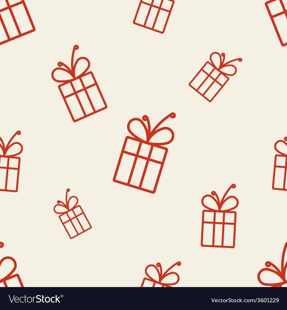 Gift pattern three vector | Price: 1 Credit (USD $1)
