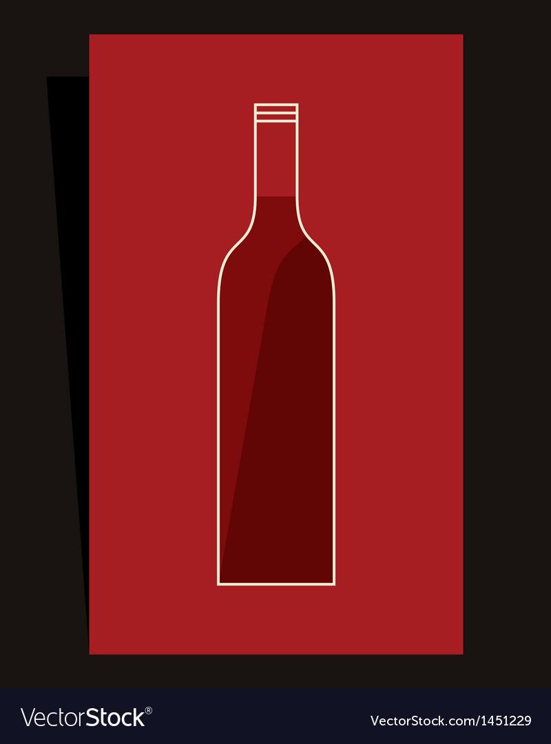 Wine list design vector | Price: 1 Credit (USD $1)