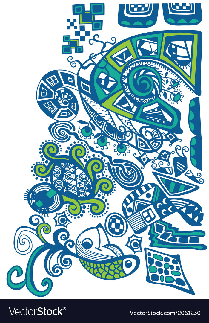 Abstract decorative design vector | Price: 1 Credit (USD $1)