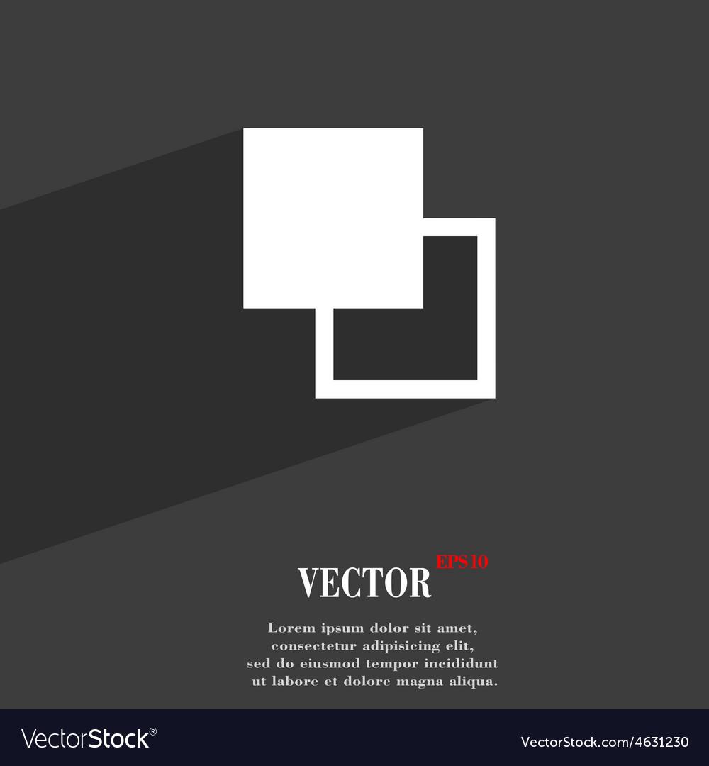Active color toolbar icon symbol flat modern web vector | Price: 1 Credit (USD $1)