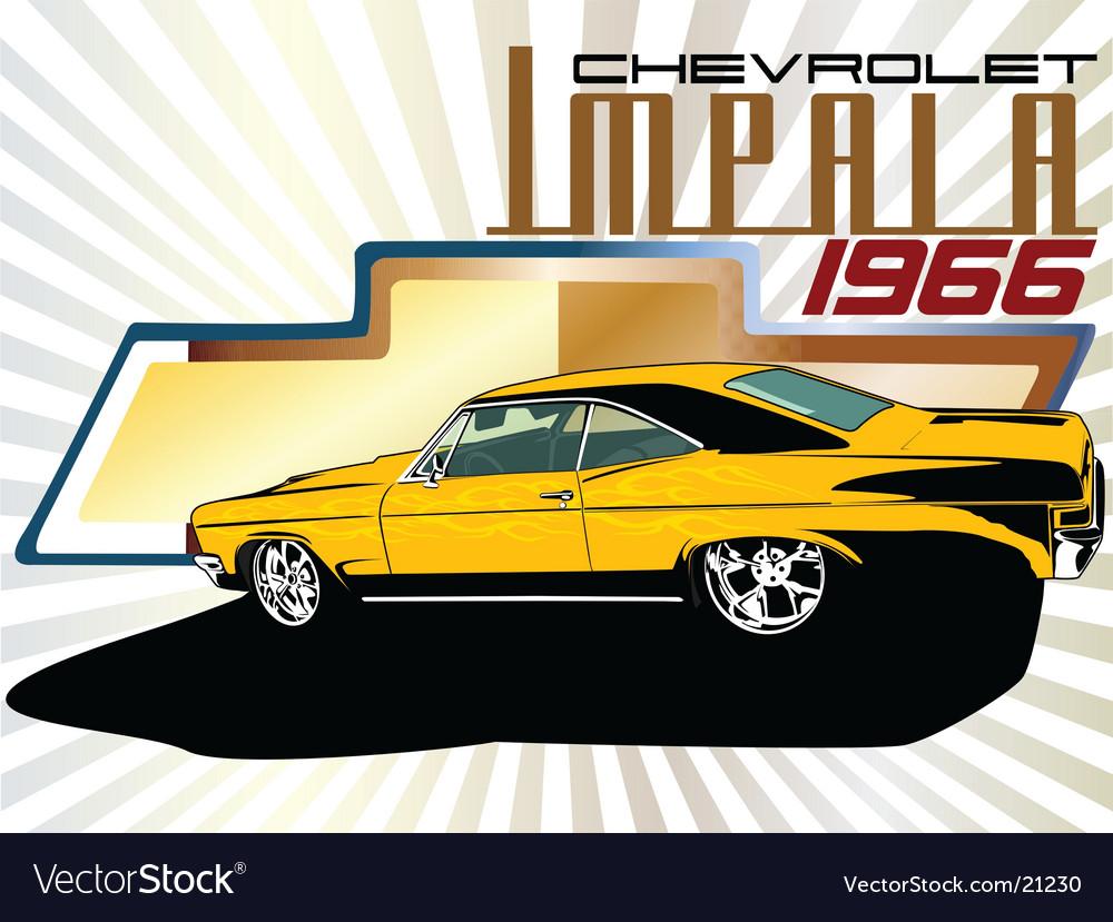 Chevrolet impala vector | Price: 1 Credit (USD $1)