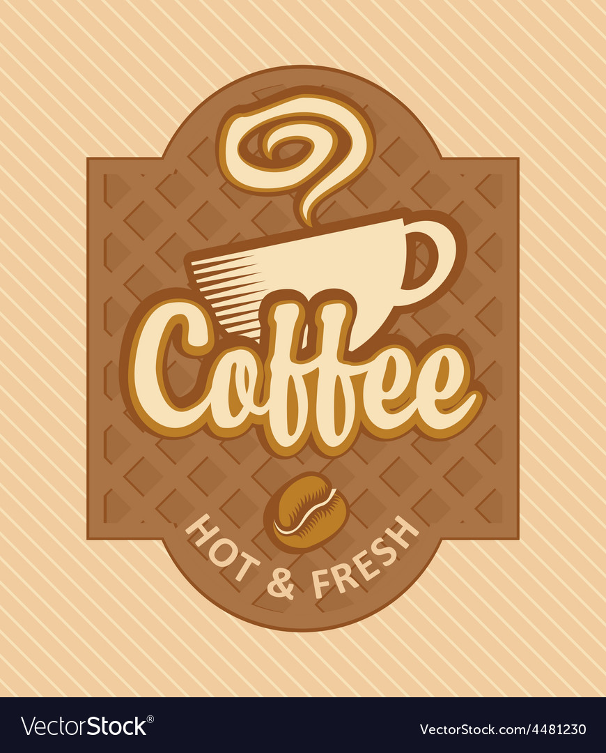 Fresh coffee vector | Price: 3 Credit (USD $3)