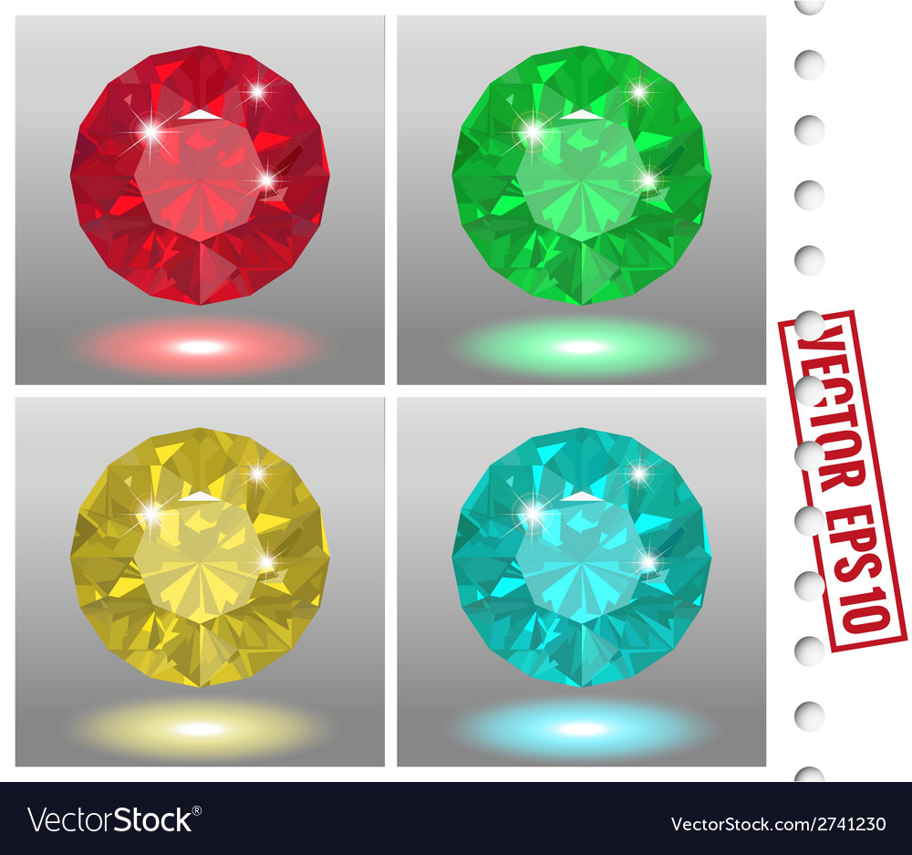 Jewels set vector | Price: 1 Credit (USD $1)