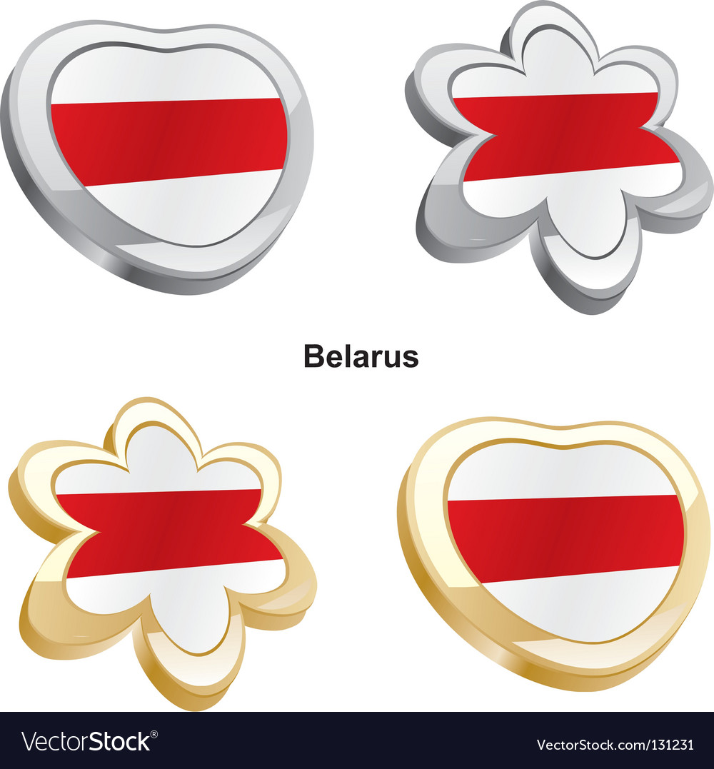 Flag of belarus vector | Price: 1 Credit (USD $1)