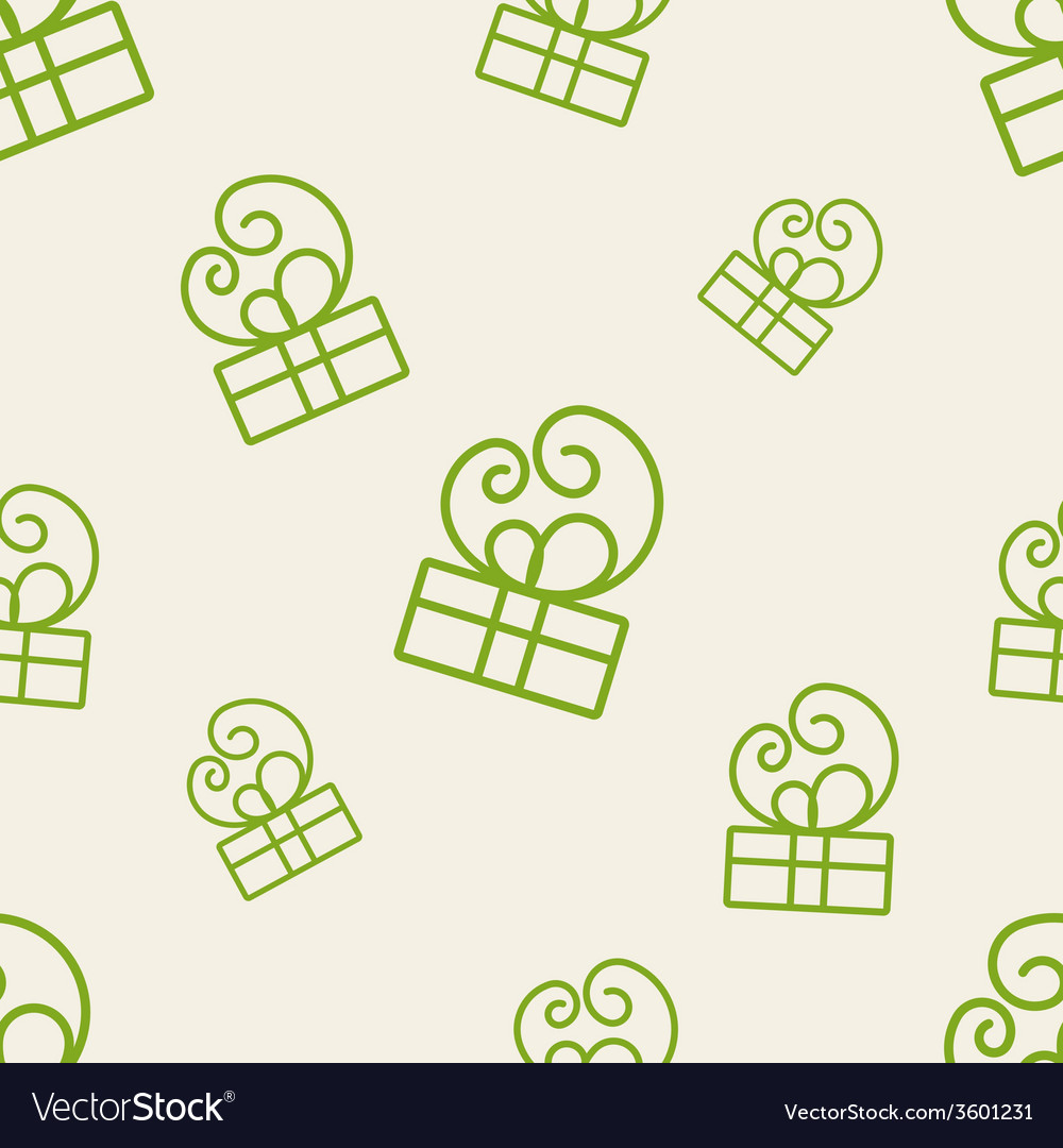 Gift pattern four vector | Price: 1 Credit (USD $1)