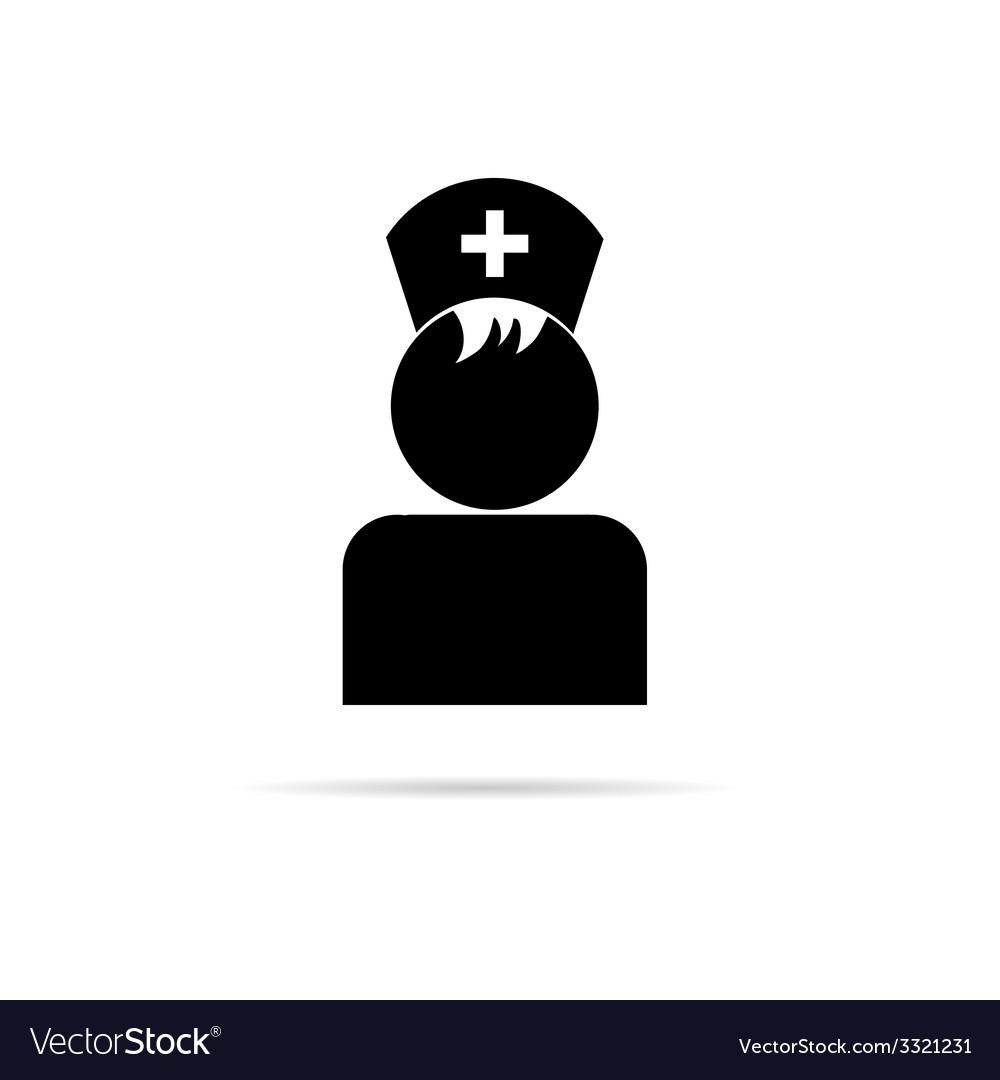 Nurse symbol vector | Price: 1 Credit (USD $1)