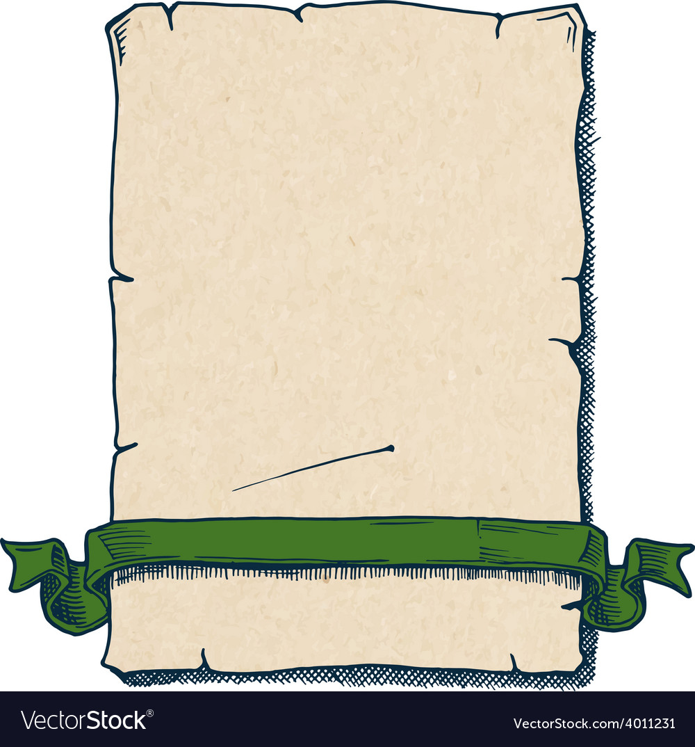 Old scroll vector | Price: 1 Credit (USD $1)