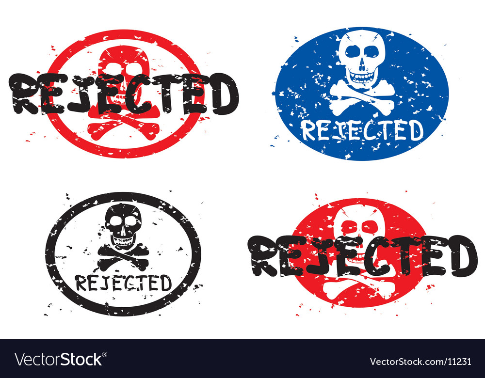 Rejected grunge stamp vector | Price: 1 Credit (USD $1)