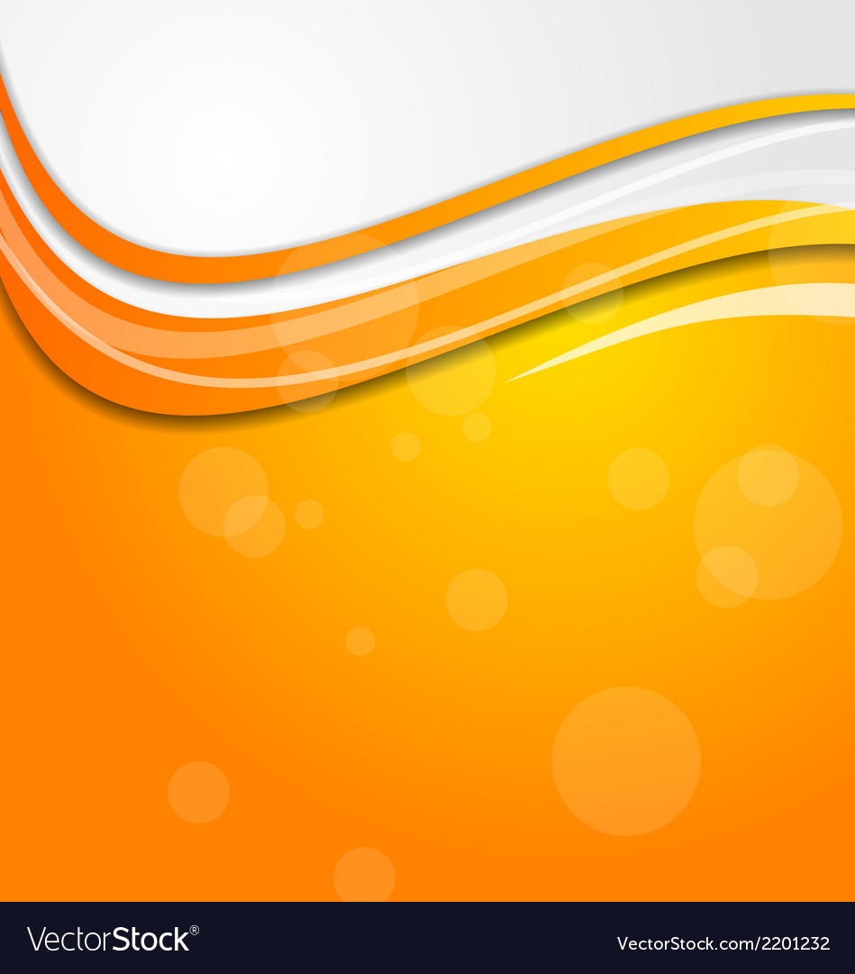 Abstract bright orange background with circles vector | Price: 1 Credit (USD $1)
