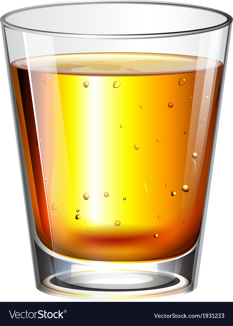 A glass of cocktail drink vector   Price: 1 Credit (USD $1)