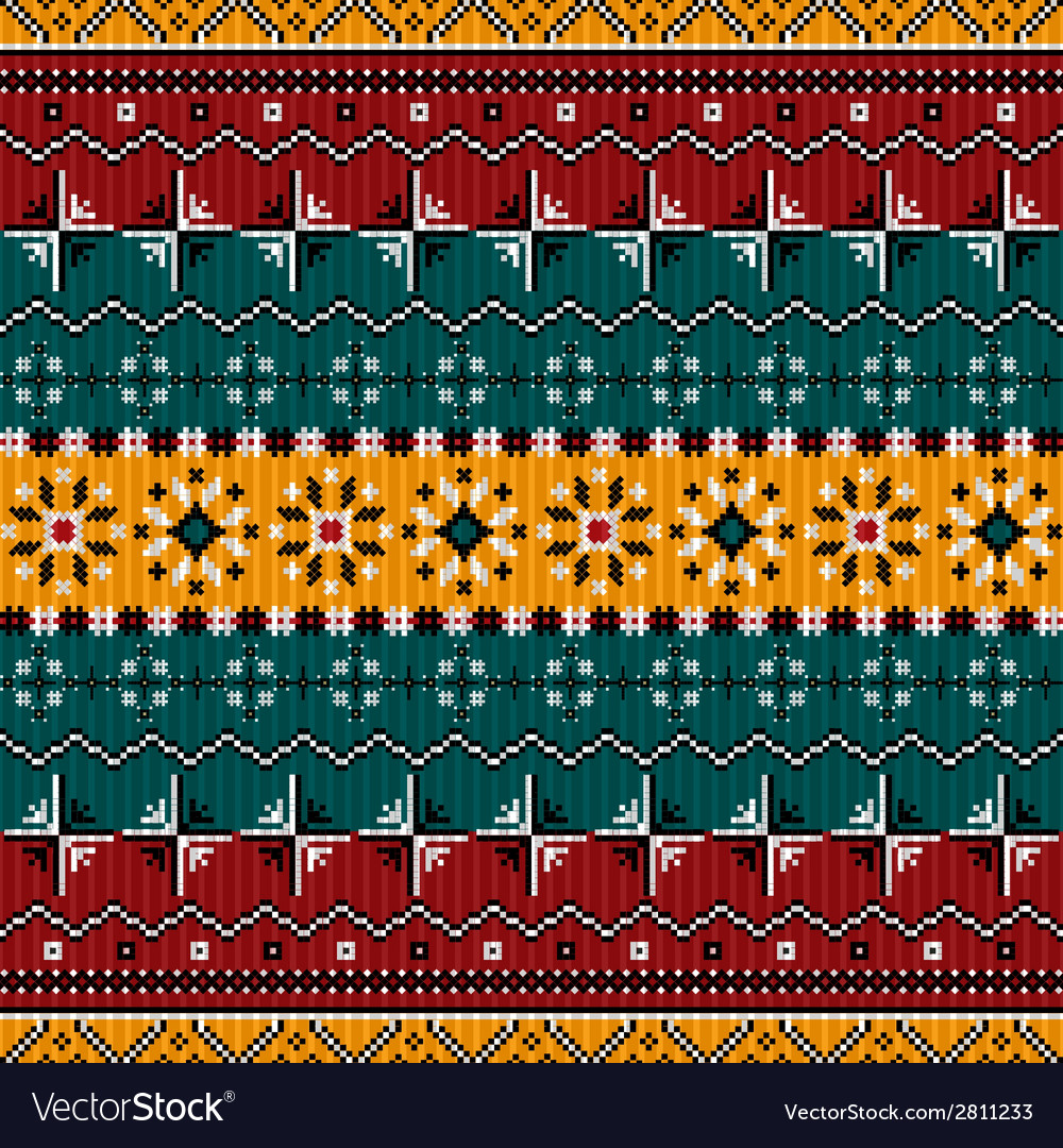 Balkan style ethno country carpet vector | Price: 1 Credit (USD $1)